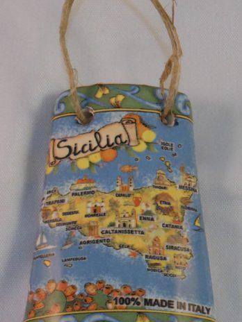 TEGOLA C/CORNICE CM.6 CART.SICILIA
