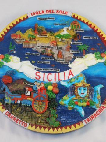 PIATTO RES. CM.20 GROUP SICILIA