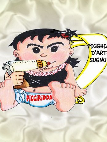 MUG RIL. CM.13X10 PICCIRIDDA BABY MAFIUSA