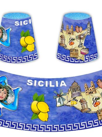 BICCHERINO CONICO CM6 GRECA SICILIA