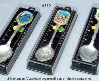 SILVER PLATED SPOONS /CUCCHIAINI S224/S230