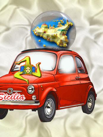 BOLLA AUTO 45 MM. SICILIA