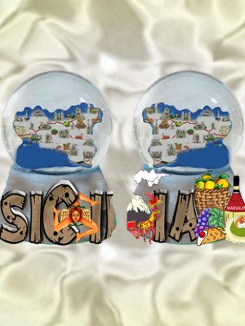 BOLLA B/RESINA 45MM. SCR SICILIA